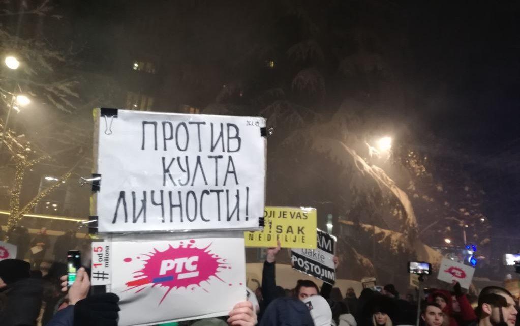Građanski protesti se nastavljaju: Traže ostavku Aleksandra Vučića i preispitivanje doktorata nekoliko ministara!