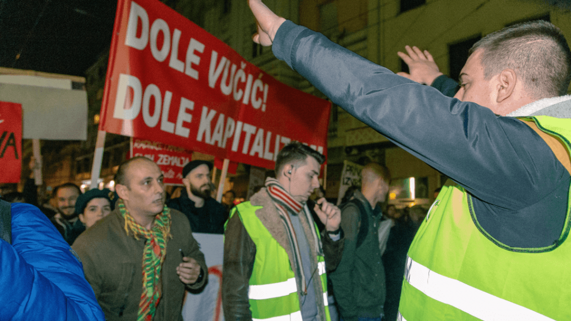 "Otvoreno pismo Levog bloka organizatorima protesta ""1 od 5 miliona"""