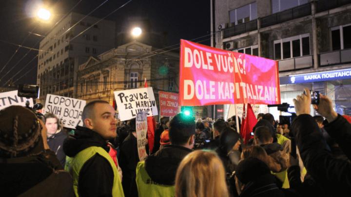 """Levi blok: """"Pokušavaju da očiste protest od neistomišljenika"""""""
