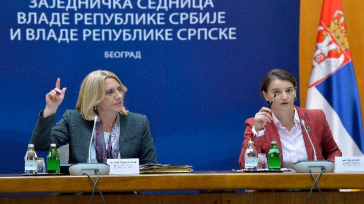 Zajednička sednica vlada Srbije i RS 28. februara