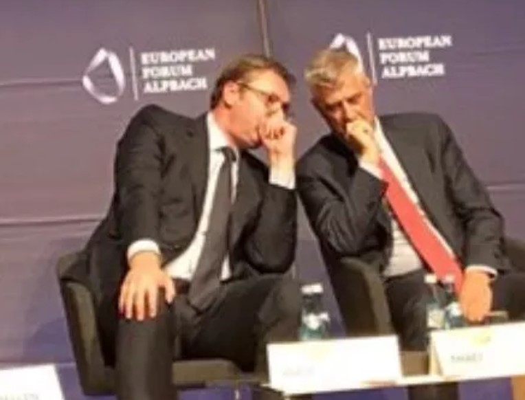 Postoji li tajni sporazum između Vučića i Tačija?