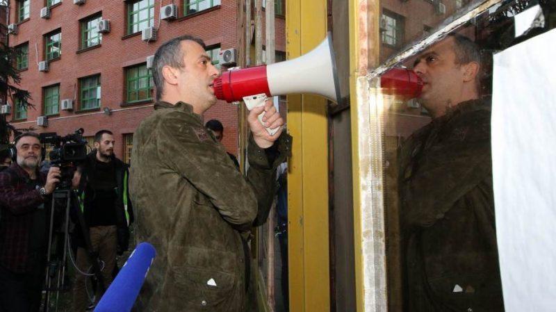 LSV: Ako se ne ogradi od Trifunovića, protest gubi građanski karakter