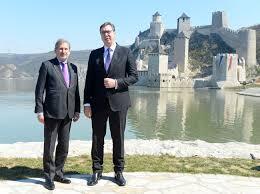 Svečano : Vučić i Han otvorili Golubačku tvrđavu