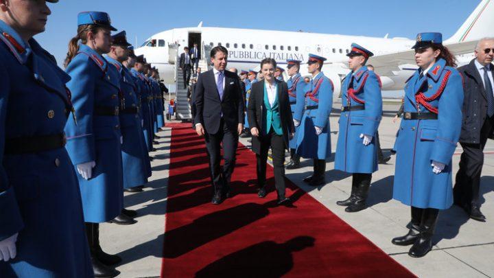 Đuzepe Konte izrazio punu podršku Srbiji na njenom putu ka EU