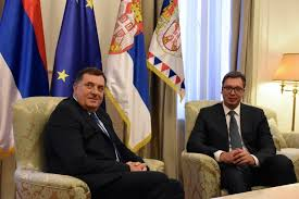 Sastanak Vučića i Dodika: Srbija RS šalje 32 miliona evra