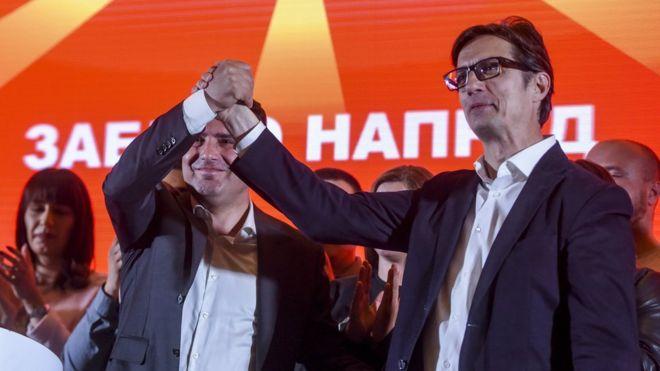 Severna Makedonija: Pendarovski i Davkova idu u drugi krug