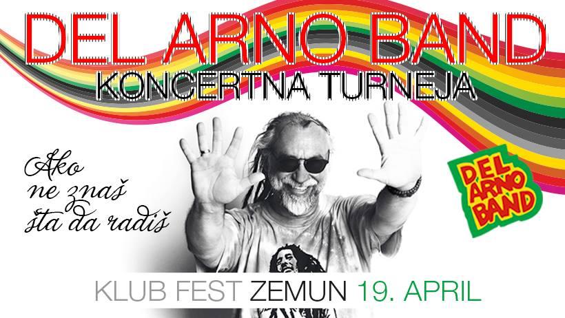 Del Arno Bend, večeras u klubu Fest