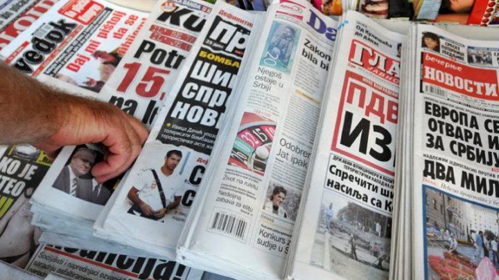 KiM: Srpska štampa ponovo na kioscima