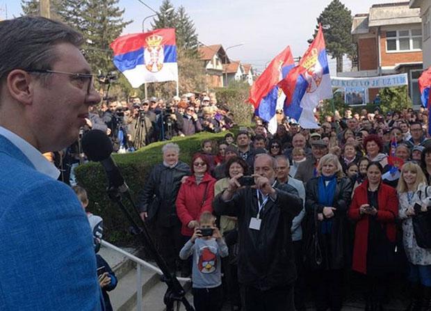 Predsednik Vučić posetio Braničevski okrug
