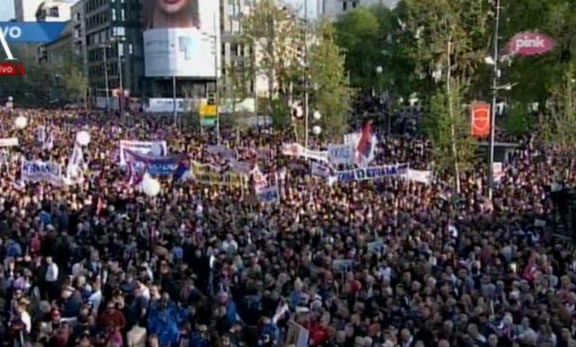 Miting u Beogradu – potvrda srpskog jedinstva
