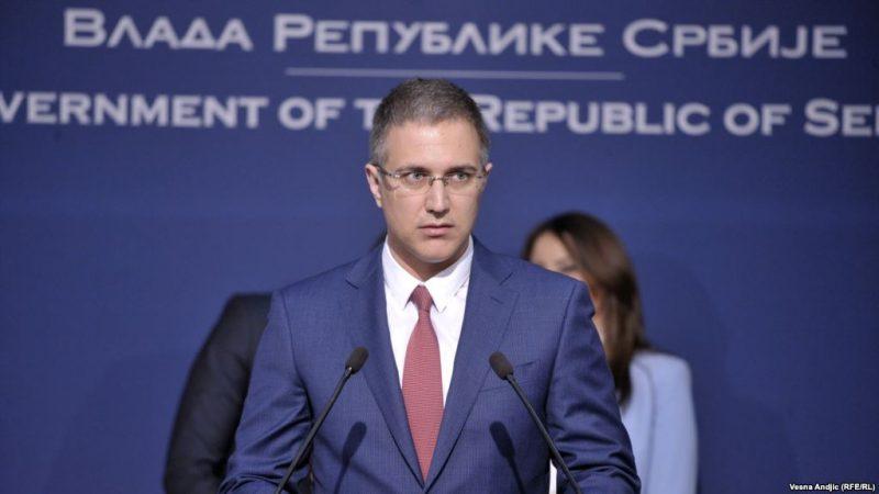 Nebojša Stefanović o protestu u Borči: nije bilo narušavanja javnog reda i mira