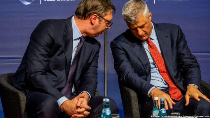 Berlin: Tači i Vučić pripremili zajedničku izjavu