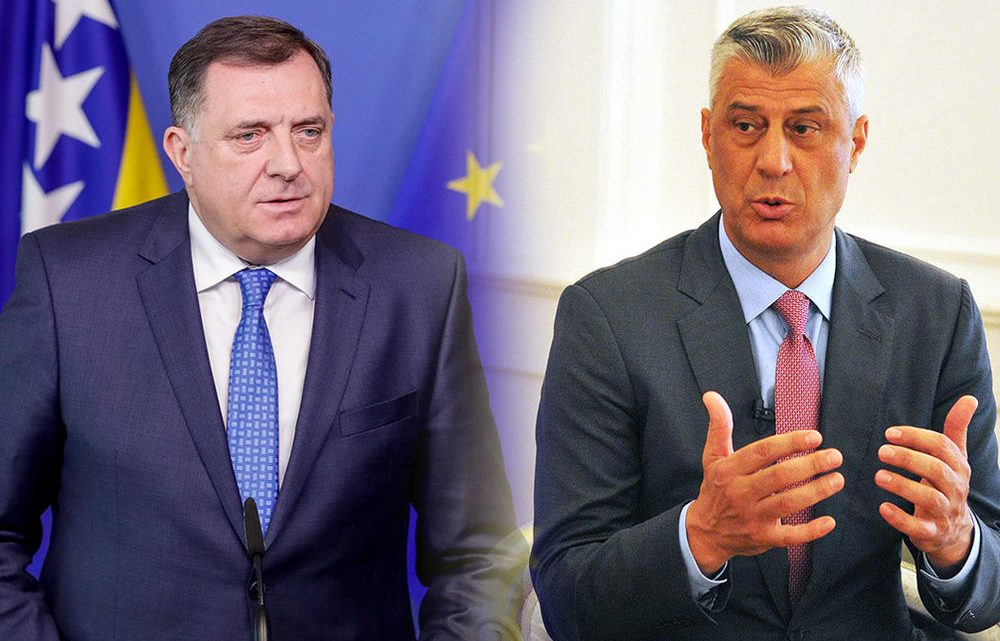 POSLE TIRANE: Dodik Tačiju – RS nije imaginarna država!