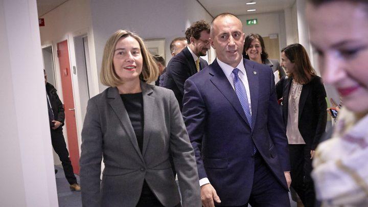 """RAMUŠ HARADINAJ: """"Razvlastio sam Mogerinijevu i Vučića"""""""