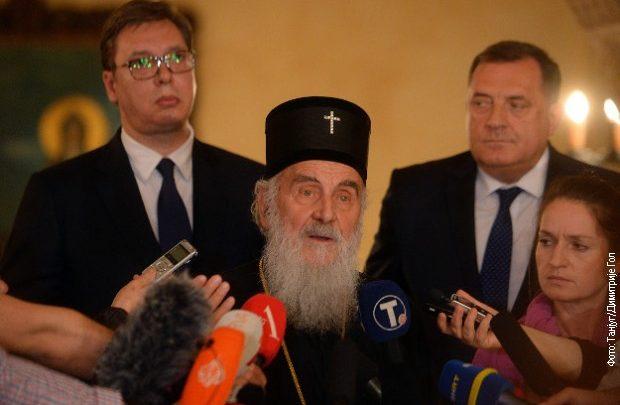Vučić na Saboru SPC govorio o brigama zbog stanja na KiM