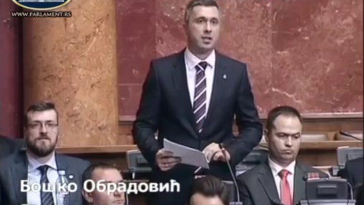 ČEKAJUČI SEDNICU SKUPŠTINE O KIM: Boško Obradović – pitanja za Vučića