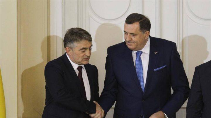 SARAJEVO: Komšić tuži Dodika!