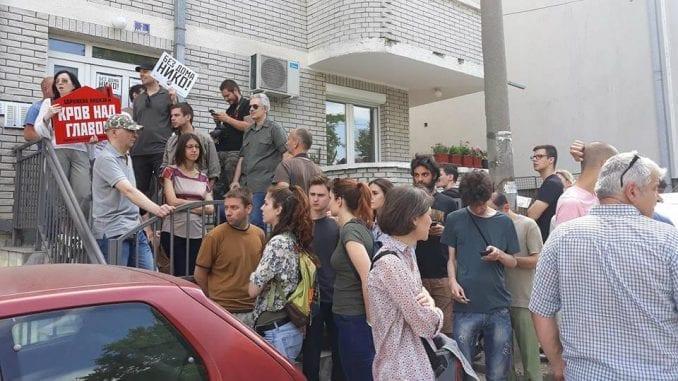 "Sopštenje SDU: Poziv građanima na protest ""Solidarno protiv izvršitelja"""