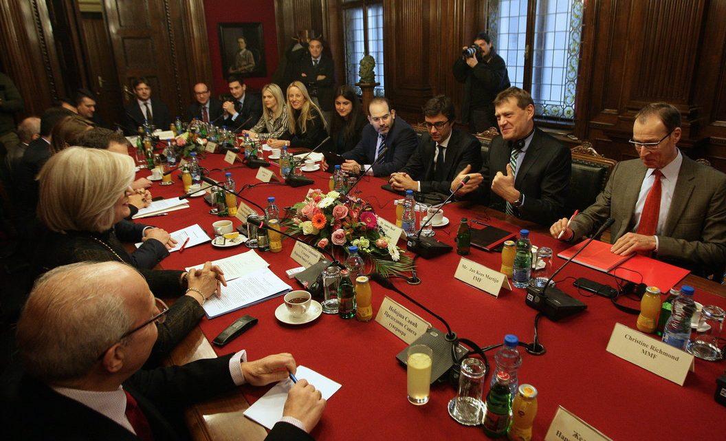 BEOGRAD: Počeli razgovori sa delegacijom MMF