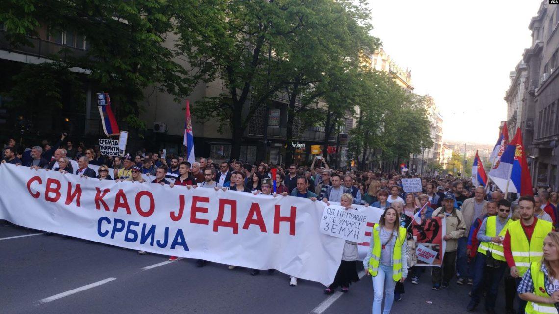Osmog juna – pola godine od prvog protesta građana