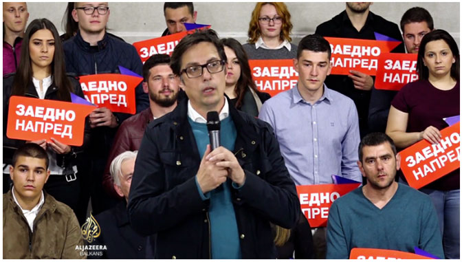 SEVERNA MAKEDONIJA: Stevo Pendarovski novi predsednik