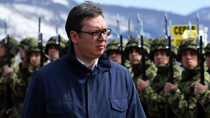 ALEKSANDAR VUČIĆ: Naredio sam punu borbenu pripravnost naših jedinica