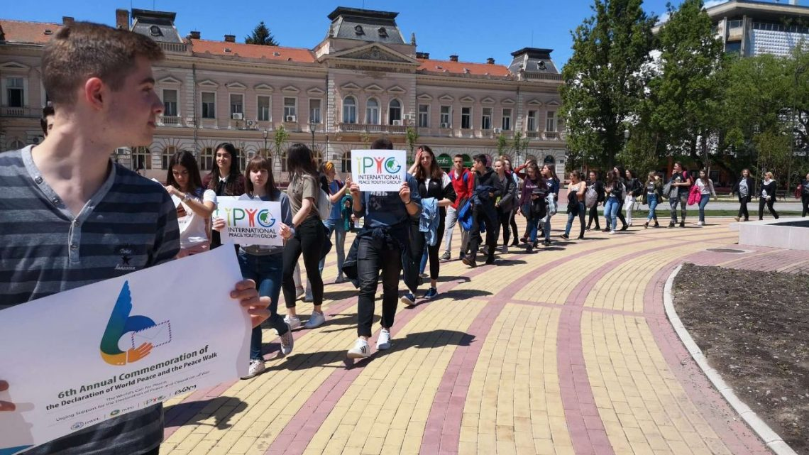 "BEOGRAD 8. JUNA: Šetnja pod sloganom ""Mir, brate, mir!"""