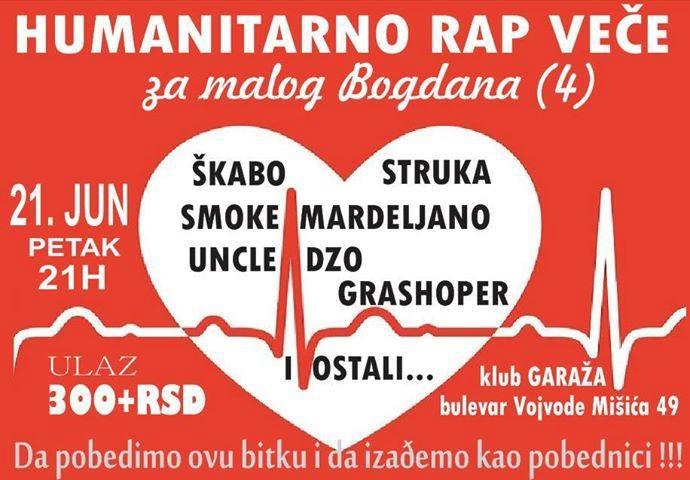 KLUB GARAŽA: Humanitarni koncert beogradskih repera