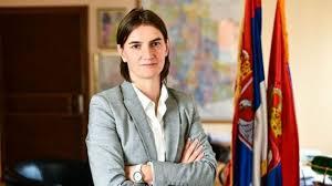 ANA BRNABIĆ: Ministar Popović nije nadležan da ocenjuje Briselski sporazum