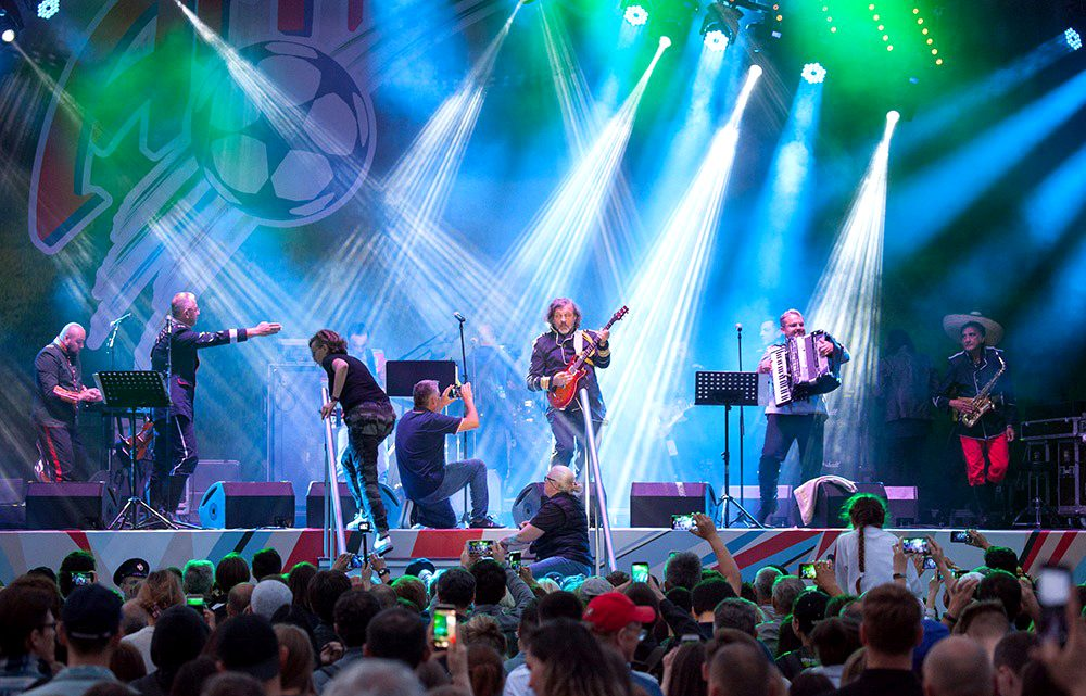MOSKVA – ART FUDBAL: Srbi prvci sveta u muzici!