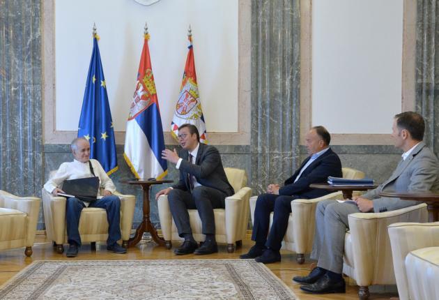 SUSRET: Vučić razgovarao sa srpskim matematičarem Stojanom Radenovićem