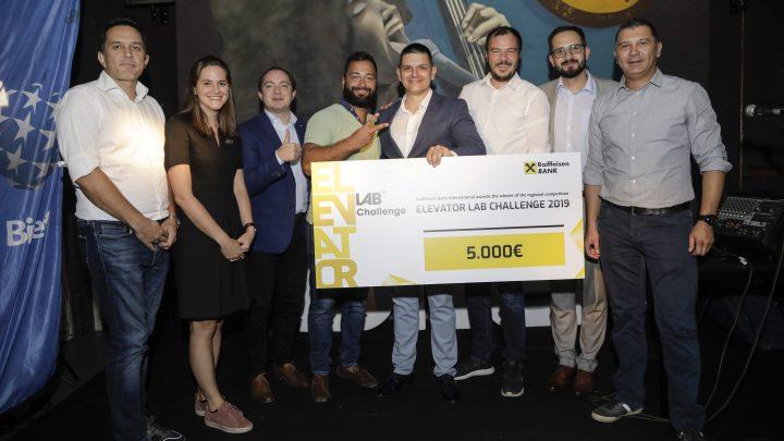 STARTAP UHURA pobednik regionalnog finala Elevator Lab Challenge-a