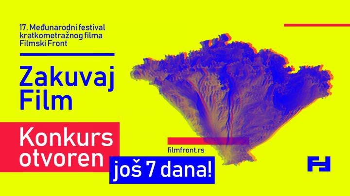 """NOVI SAD – 17. MEĐUNARODNI FESTIVAL """"FILMSKI FRONT"""": Produžen rok za prijavu filmova do 30. septembra"""