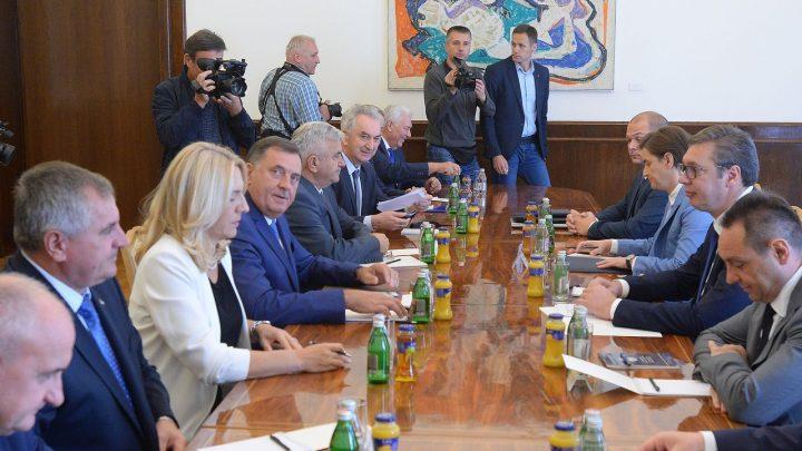 """POSLE SASTANKA: DW- Dodik preterao u izražavanju """"brige"""" povodom Deklaracije SDA?"""