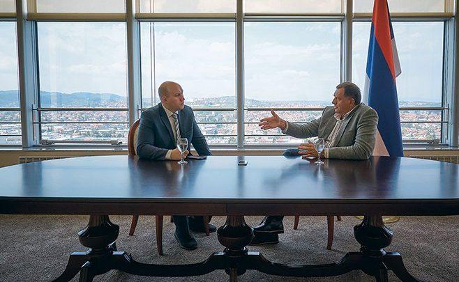 MILORAD DODIK ZA RUSKI REPORTER: SAD se mešaju u sistem bezbednosti BiH – a ne Rusi