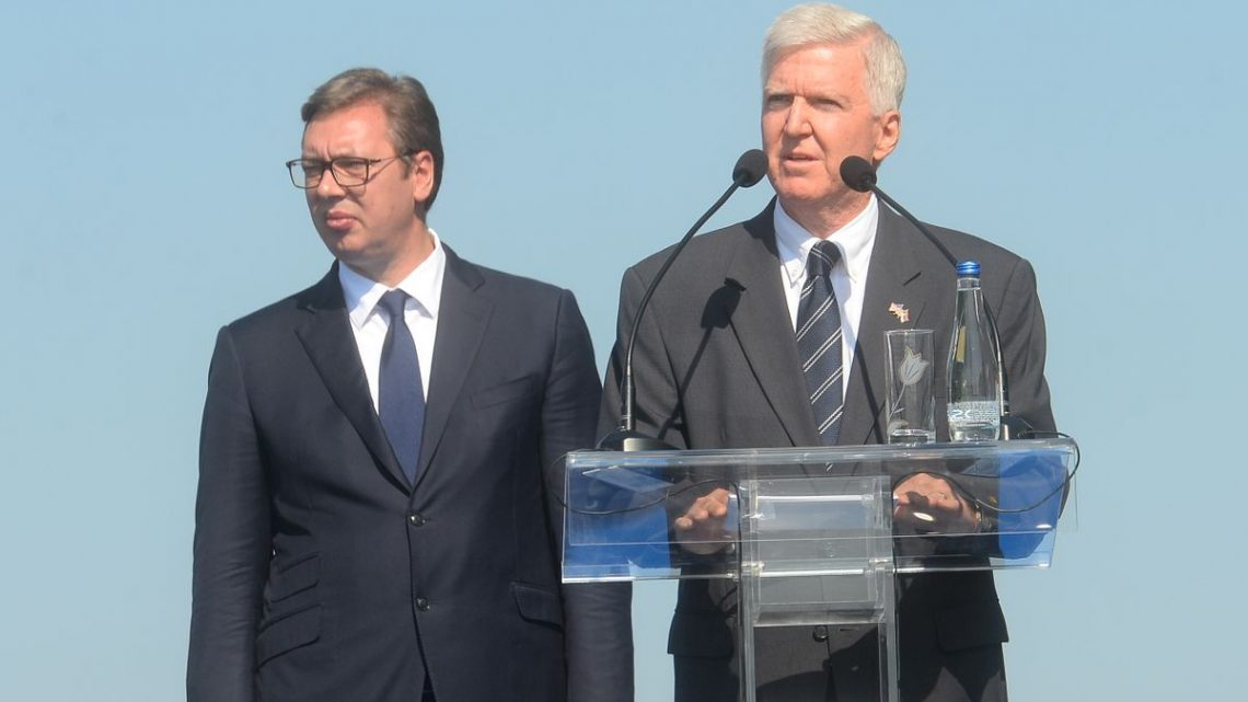 VUČIĆ NA SVEČANOSTI U PRANJANIMA: Srbija sada prvi put u američkoj Vladi ima partnera