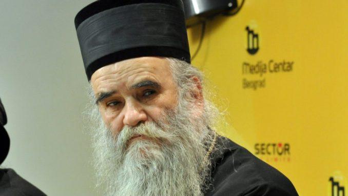 MITROPOLIT AMFILOHIJE: Ne slaže se odlukom Sinoda SPC da orden dodeli Aleksandru Vučiću