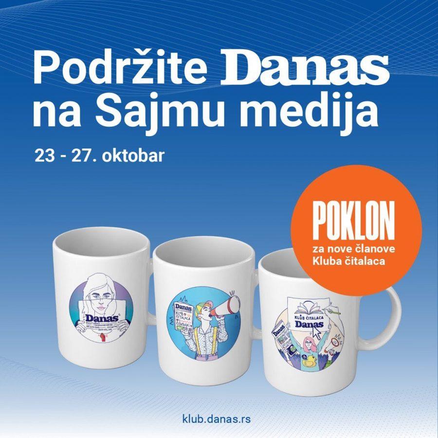 """BEOGRADSKI SAJAM KNJIGA: Danas pokreće kampanju """"Budi Danas pametan"""""""