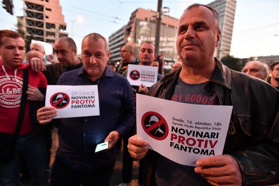 PROTEST NOVINARA I GAĐANA: PODRŠKA N1