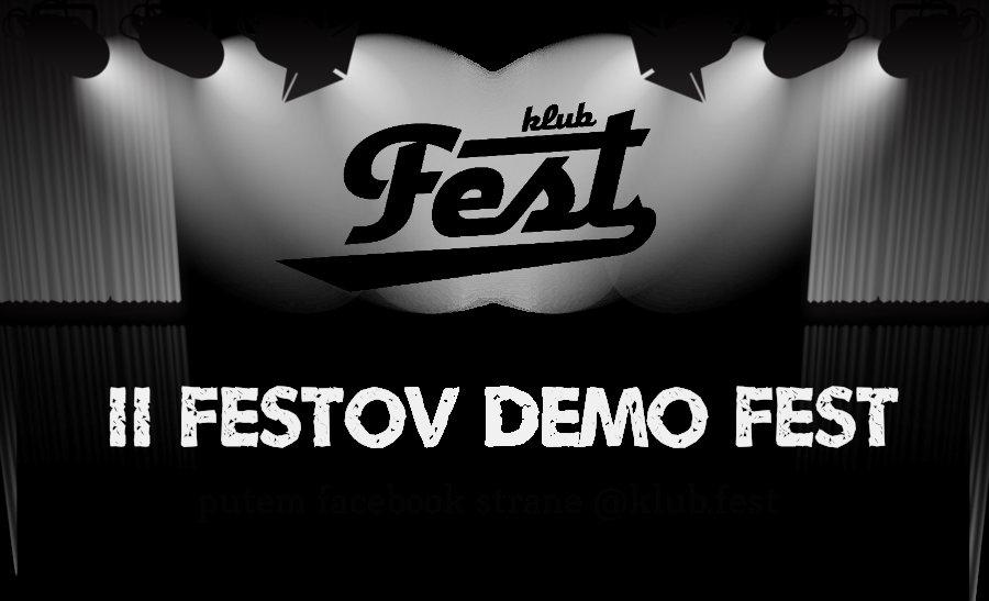 Klub Fest poziva: Počinje prijavljivanje za Drugi Festov Demo fest