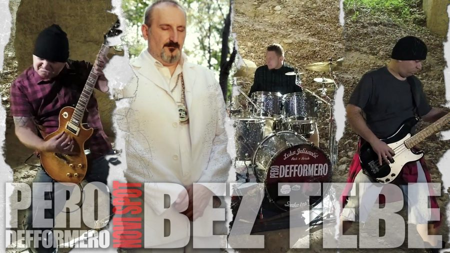 "Muzika: Pero Defformero predstavlja novi simgl ""Bez tebe"""