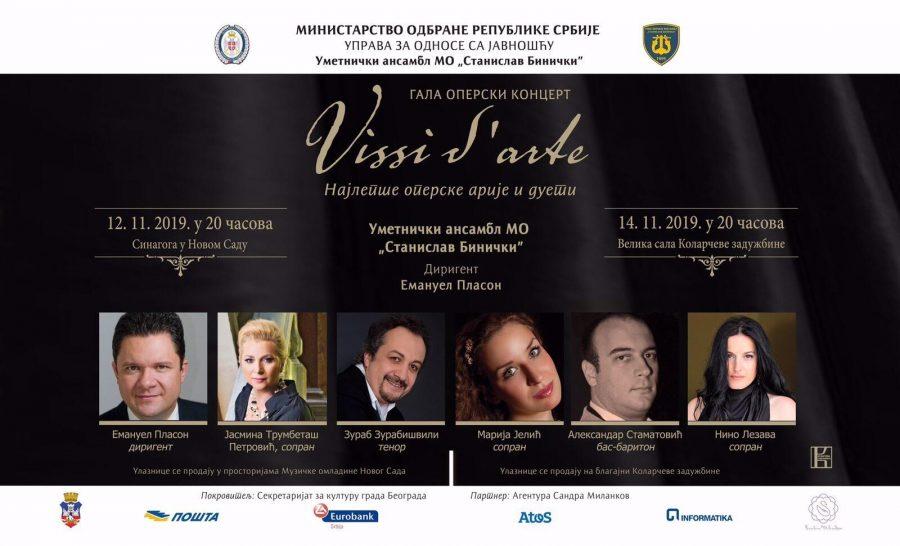 Sutra spektakl na Kolarcu: Gala operski koncert Vissi d'arte