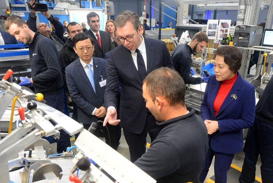 Danas u Kragujevcu: Počela sa radom Kineska Janfeng fabrika