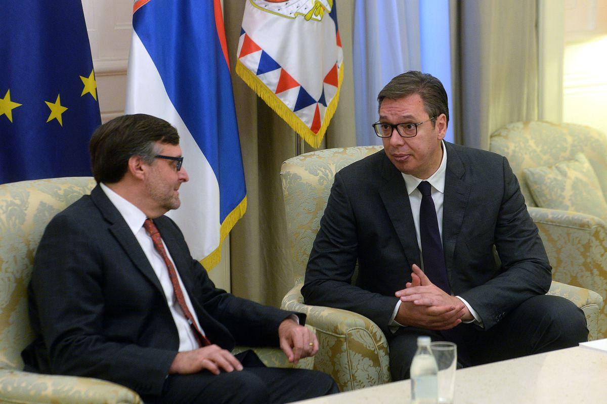 RAZGOVARALI VUČIĆ I PALMER: Ništa bez Srpske liste!