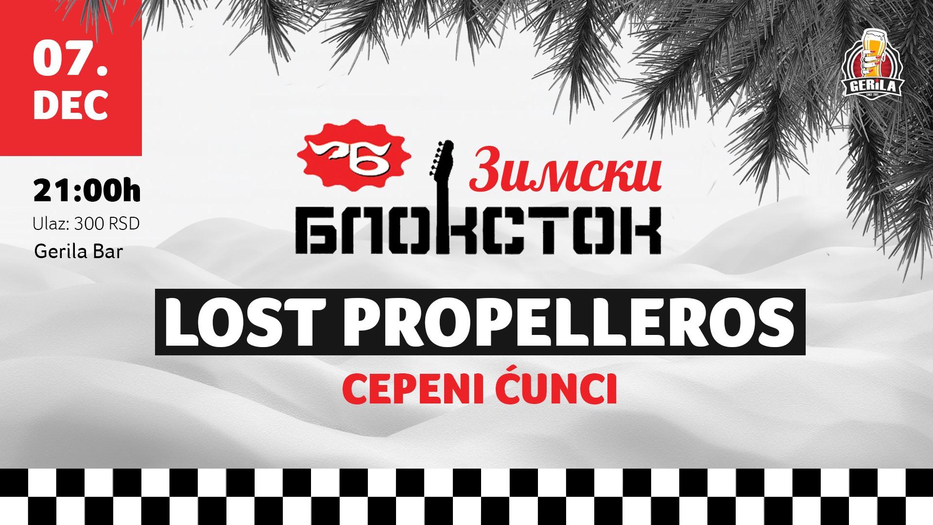 """Novi Sad: Treći """"Zimski Blokstok"""" u Gerili"""