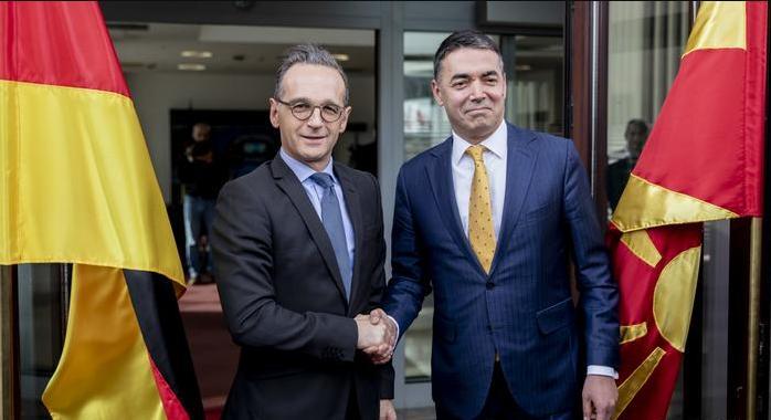 Nemački ministar Mas: Čvrsta podrška S. Makedoniji