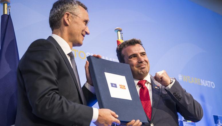 STOLTENBERG TEŠI ZAEVA: Za nekoliko meseci S.Makedonija u NATO