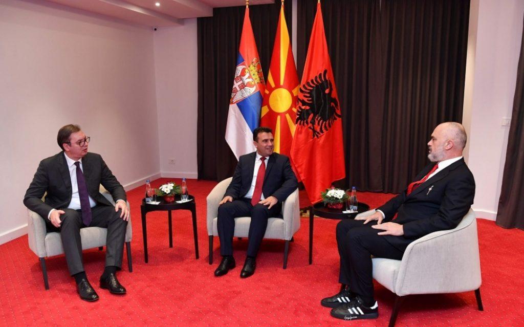 OHRID: Vučić, Rama i Zaev nastavljaju razgovore