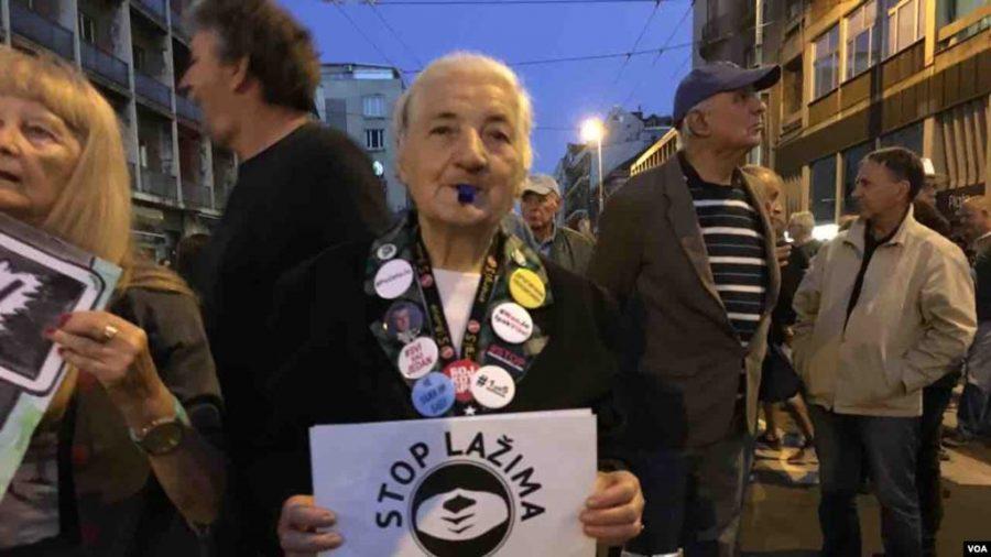 "Protest ""Jedan od pet miliona"": RTS ""Odbor SNS"""