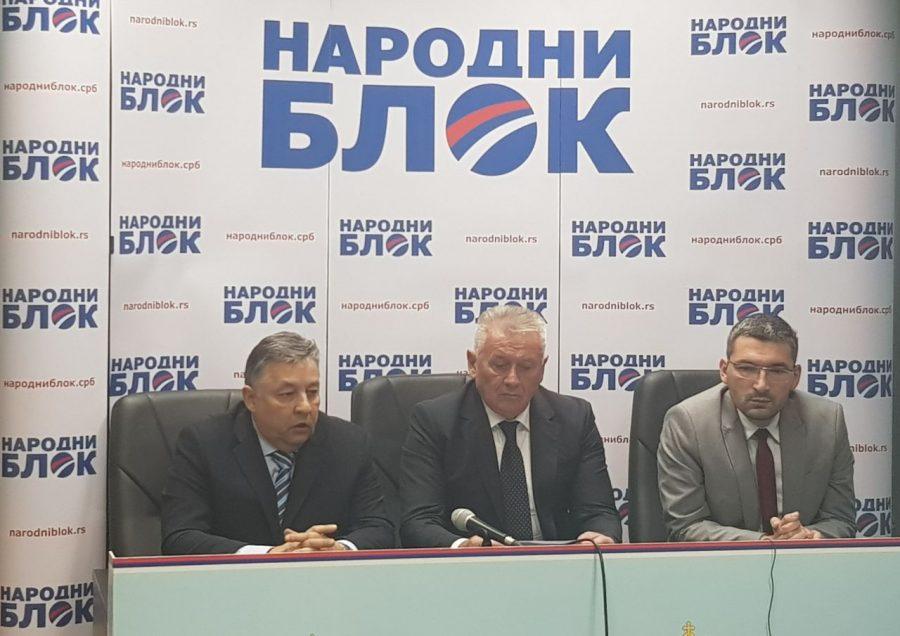Nova koalicija na političkoj sceni Srbije: Narodni blok kreće u kampanju 10. decembra
